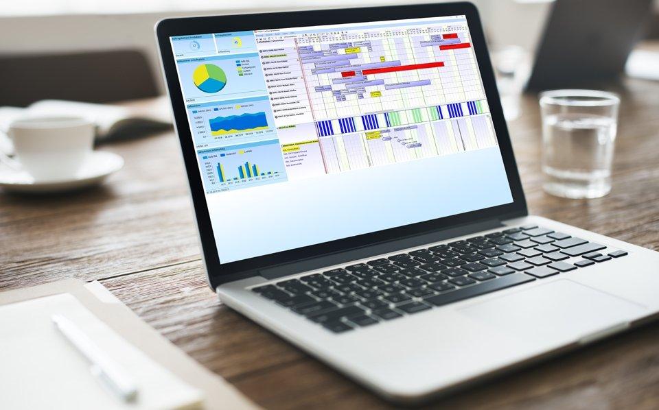 Projektzeiterfassung mit unserer Software für eine übersichtliche Projektstatuserfassung