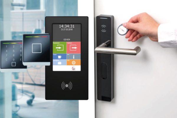 Zeiterfassungskomponenten und Zutrittskontrolle per RFID