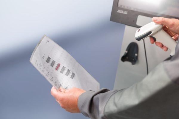 Erfassung BDE mit Barcodescanner
