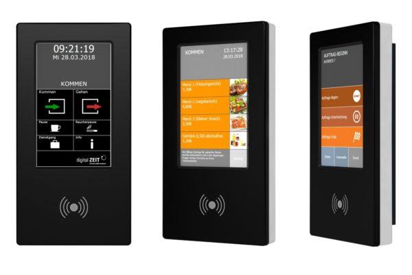 Unser MFT4000-Terminal zur digitalen Zeiterfassung