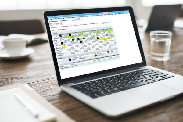 Personalzeiterfassung Kalender
