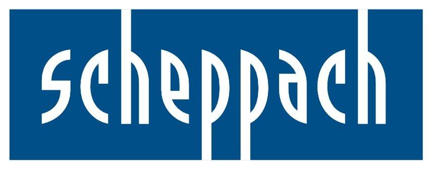 Scheppach Logo blau