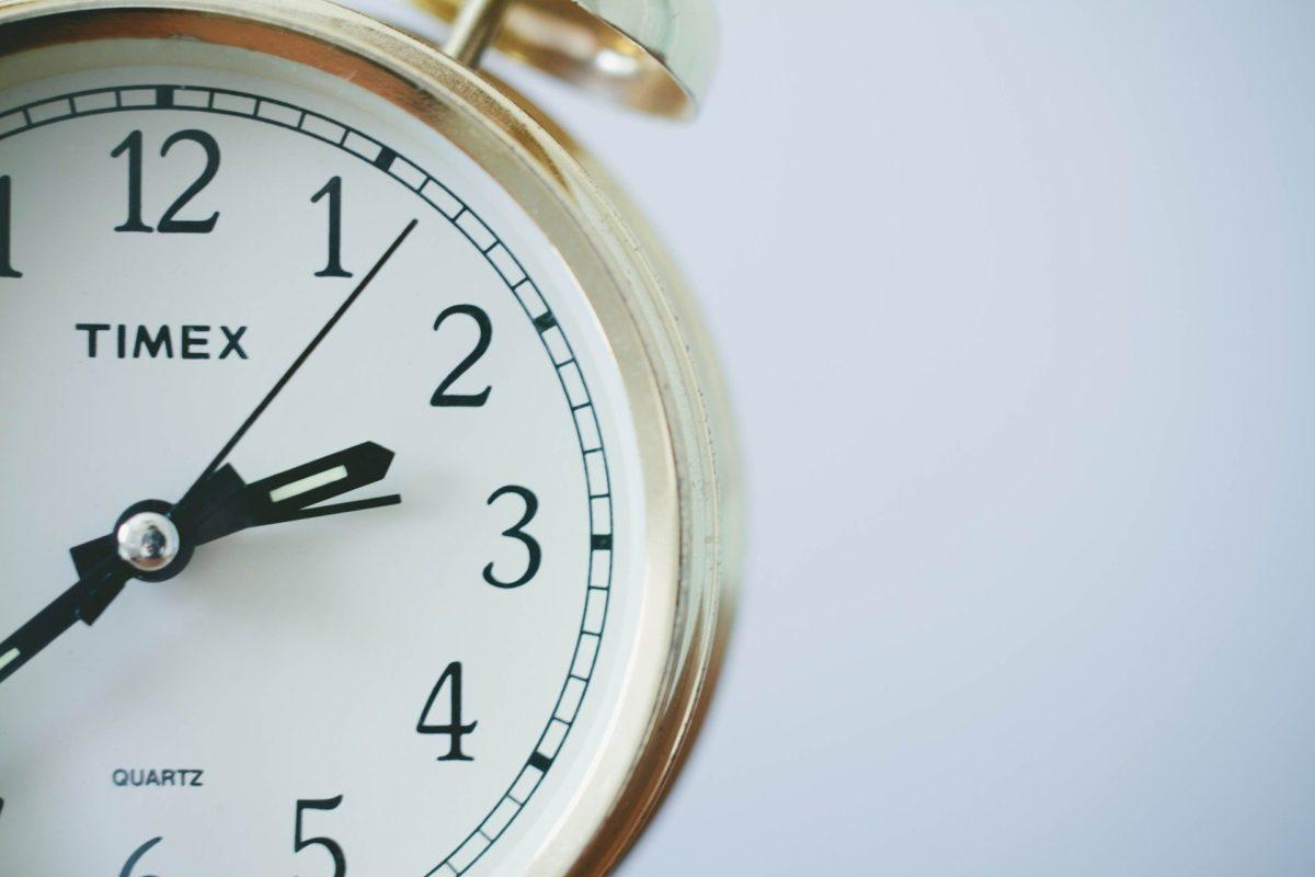 Bild Arbeitszeiterfassung Uhr