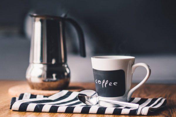 Kaffeetasse für die Pause